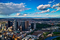 Melbourne City View Royalty Free Stock Photography