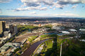 Melbourne City View Stock Photos