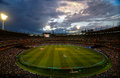 Melbourne cricket ground MCG view from stand Royalty Free Stock Photo