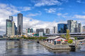 Melbourne's Southbank Royalty Free Stock Photo