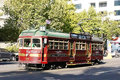 Melbourne tram picture of used for city tours for free Stock Photo
