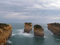 Melbourne twelve apostles look out point view Royalty Free Stock Photo