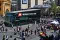 Melbourne visitors centre federation square victoria australia in Royalty Free Stock Photo