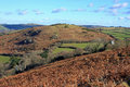Meldon hill dartmoor view across from Stock Photos