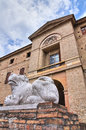 Meli Lupi Fortress of Soragna. Emilia-Romagna. Royalty Free Stock Photo