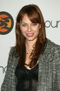 Melinda clarke at the launch party for burnlounge cabana club hollywood ca Royalty Free Stock Photos