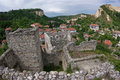 Melnik bulgaria the medival village of no wine producing village in Royalty Free Stock Photos