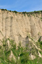 Melnik sand pyramids are the most fascinating natural phenomena formed by erosion caused by wind and rainfalls Royalty Free Stock Image
