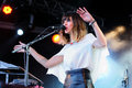 Melody s echo chamber band performs at heineken primavera sound festival barcelona may on may in barcelona spain Stock Photo