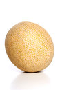 Melon on white background close up Royalty Free Stock Photo