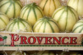 Melons from France Royalty Free Stock Photography
