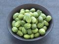 Melothria scabra mini cucumbers Royalty Free Stock Photos