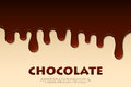Melted chocolate abstract. Decoration background