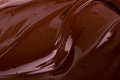 Melted chocolate dark close up Royalty Free Stock Photo