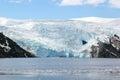 Melting glacier iceberg Royalty Free Stock Photo