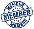 Member stamp Royalty Free Stock Photo