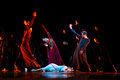 Members of the yevgeny panfilov ballet studio from perm perform romeo and juliet during ifmc on november in vitebsk be belarus Stock Photos