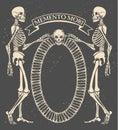 Memento mori Royalty Free Stock Photo