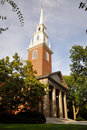 Memorial Church, Harvard University, Cambridge, MA Royalty Free Stock Image