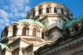 Memorial Church of St. Alexander Nevsky. Sofia Royalty Free Stock Photos