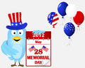 Memorial day. Royalty Free Stock Photography