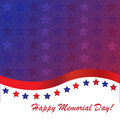 Memorial day background with american flag colors Royalty Free Stock Photo