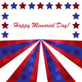 Memorial day background with american flag colors Stock Photos