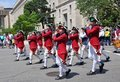 Memorial Day Parade in Washington, DC. Stock Images