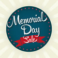 Memorial Day Sale Badge