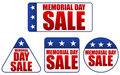 Memorial Day Sale Stickers Royalty Free Stock Photos