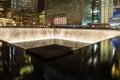 Memorial Fountain, World Trade Center Stock Images