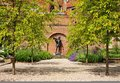 Memorial Garden by Historic Eton College Royalty Free Stock Photography