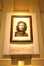 Memorial image of ernesto che guevara in casa rosada on march in buenos aires argentina a major figure the cuban revolution he Stock Images