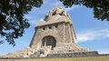 Memorial leipzig germany monument to the battle of the nations europe Royalty Free Stock Photos