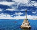 Memorial in Sevastopol Royalty Free Stock Photo