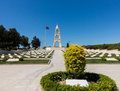 Memorial stone at Anzac Cove Gallipoli Royalty Free Stock Photo