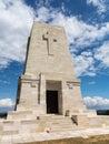 Memorial stone at Anzac Cove Gallipoli Royalty Free Stock Photo