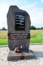 Memorial stone on Nevsky Pyatachok Royalty Free Stock Image
