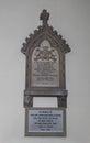 Memorial to Ada Lovelace at Hucknall Royalty Free Stock Photo