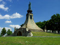 Memorial to fallen soldiers at the battle of austerlitz south moravia czech republic Royalty Free Stock Images