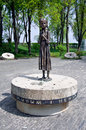 Memorial to the victims of holodomor in kiev ukraine park Royalty Free Stock Photography