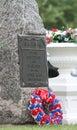 In Memoriam Stone Civil War Royalty Free Stock Photo