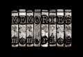 Memories or time memory lane concept Royalty Free Stock Photos