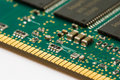 Memory RAM module Stock Image