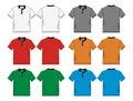 Men's polo-shirt design templates Royalty Free Stock Photo