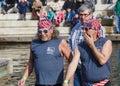 Men Displaying Patriotism Royalty Free Stock Photo