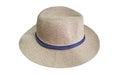 Men hat on white Royalty Free Stock Photo