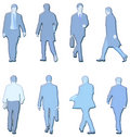 Men illustrations Stock Image