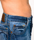Men in jeans Royalty Free Stock Photos