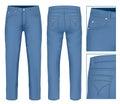 Men jeans Royalty Free Stock Photo